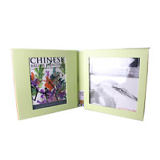 Chinese Brush Painting Art Kit - Includes Watercolour Paints Brushes Paper Ink +