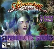 Amazing Hidden Object Games 5 Game Pack Supernatural Stories (PC) - BRAND NEW 2B