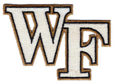 """Wake Forest Demon Deacons Ncaa College Vintage 3"""" Letters Team Patch"""