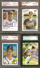 ULTIMATE TOM GLAVINE HOF COLLECTION - 1/1'S, AUTOS, GAME USED, RC, PATCH, RARE!!