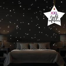 XXL Leuchtpunkte 812 Stück Sticker fluoreszierend Sternenhimmel Wandtattoo-Loft