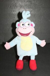 "Gund Boots Dora the Explorer Hand Puppet Plush soft Velvet Monkey 13"" Toy"