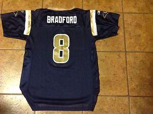 St. Louis Rams Sam Bradford Youth XL fits sizes 18/20 Reebok jersey