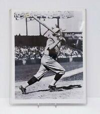 New York Yankees BABE RUTH Glossy 8x10 Photo Baseball Pose Print