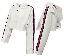 cc284a08f Puma x Rihanna Fenty Womens Hooded Long Sleeve Cropped Sweatshirt 577440 03  M15
