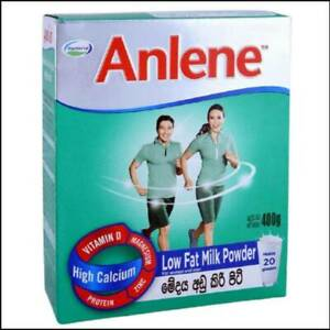Anlene 400g High Calcium Non Fat Milk Powder Strong bones for Adults Healthy