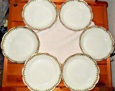 Antique Haviland & Co Limoges Schleiger 288 Set of 6 Coupe Soup Bowls France