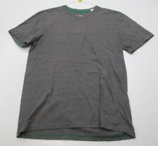 Adidas Men Size M Cotton Plain Gray Feelgood T-Shirt