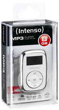 Intenso MP3 Player Music Mover 8GB 1 Zoll Display Clip Funktion weiß