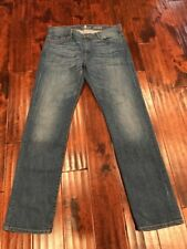 """7 For All Mankind Men's """"Standard"""" Straight Leg Jeans, Size 34"""