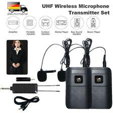 Ansteckmikrofon Lavalier Mikrofon Clip-On Microphone Wireless Mic Mikrofonsystem