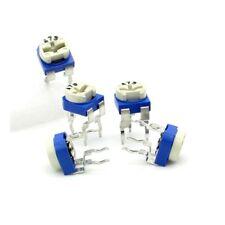 5x Trimmer 473 - 47K ohm - 0.1W Resistance Variable Rm-65 - 197pot051