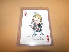 Kurt Cobain Nirvana Rock N Roll Hall Of Fame Playing Card