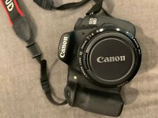 Canon EOS 60D 18MP Digital DSLR Camera w/ Battery, Charger, 18-200mm and 50mm
