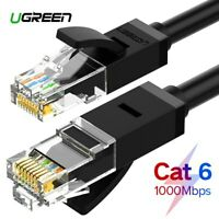 UGREEN Ethernet Cable CAT6 RJ45 Network Patch Lead Cable For PC PS4 Xbox Router