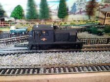 OO Gauge 0 4 0 diesel Industrial Shunter Matt Black