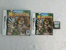 Madagascar Nintendo DS Game Dreamworks Classic Family Fun TESTED WORKING