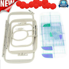 Embroidery Frame Hoops Set for Brother PE700 780D Innovis Sewing Machine Parts