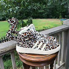 NEW Men US Size 7.5 Jeremy Scott Adidas  LEOPARDS  V24536  AUTHENTIC 100%