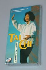 1990 TAI CHI for Health - Fitness & Relaxation VHS Video Tape - New / Sealed