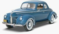 Monogram 1940 Ford Standard Coupe 1:25 scale model car kit new 4371