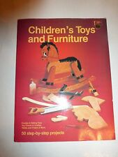Children's Toys And Furniture - 50 step-by-step projects, Monte Burch,1983,PB175