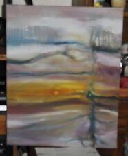 """FRANK CARMELITANO Abstract  Cavas Oil Painting 20"""" x16"""""""