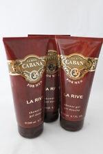 (33,17€/L)  La Rive Duschgel Cabana 3 x  200 ml  Duschgel für Herren
