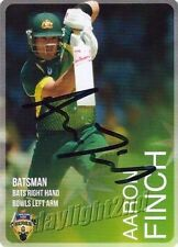 Aaron Finch Australia National Cricket Trading Cards