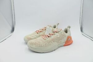 adidas Crazy Power Size 8 UK Trainers - White Pink Crossfit Gym CG3460 aof