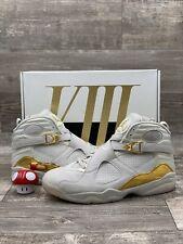 Nike Air Jordan Retro 8 VIII C&C Champagne White Bone Gold Sail Sz 13 832821-030