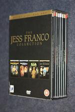 DVD - THE JESS FRANCO COLLECTION - 8 DVD + BOX - ANCHOR BAY -  E11 - FL