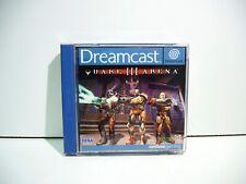 Quake 3 Arena Dreamcast DC Sega Pal Euro Fr