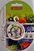 Fridge & Freezer Dial Thermometer Colour Coded. Home Restaurants Bars cafes etc