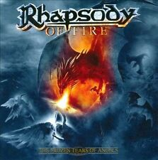 The Frozen Tears of Angels+2 bonus tracks  RHAPSODY OF FIRE CD