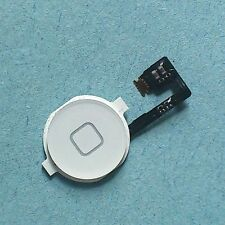 Home button for iPhone 4 and 4G White menu lock switch with flex + UI iPhone4