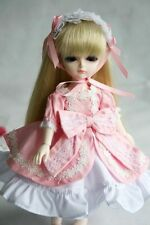 [PF] 124# Pink Dress Clothes Outfit 1/6 SD DOD BJD Dollfie