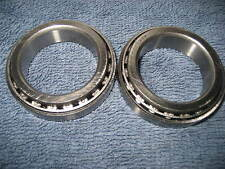 NEW BMW /2 TAPERED STEERING BEARINGS R26-27 R50 R60 R69S W/DIAGRAM 34MMX51MM