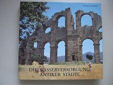 Wasserversorgung antiker Städte Bd.2 Pergamon Brunnen Nymphäen Bauelemente 1987