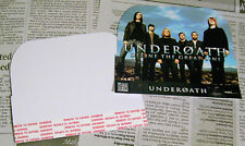 Underoath promo Bin Card • 2006 Define The Great Line 4-1/2 inches x 5 inches
