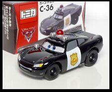 Tomica Disney C-36 CARS 2 Lightning McQueen TOON Police Type New TAKARA TOMY