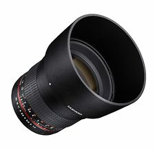 Samyang 85mm F1.4 Aspherical Lens for Canon EOS Digital SLR