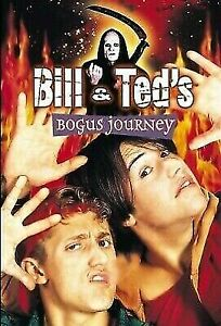 Bill And Teds Bogus Journey DVD 1991 Keanu Reeves Cult Classic Comedy Movie RARE