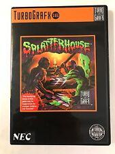 Splatterhouse - Turbo Grafx 16 - Replacement Case - No Game