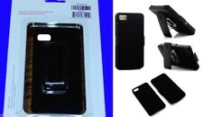 OEM Authentic Black Cover + Holster Combo Hard Case for BlackBerry Z10 New