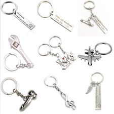 If Dad Can't Fix It No One Can Drive Safe Alloy Heart Compass Keyring Keychain