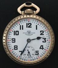 B Railroad Grade Pocket Watch Beautiful 21J Ball Standard Model