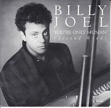 """BILLY JOEL You're Only Human (Second Wind) PICTURE SLEEVE 7"""" 45 rpm vinyl record"""