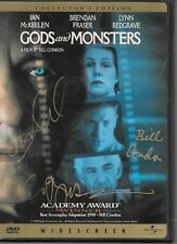 Gods And Monsters Signed Dvd By Bill Condon & More