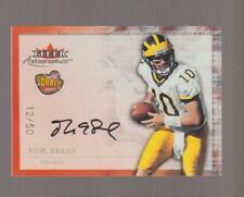 2000 Fleer Autographics Tom Brady rookie REPRINT card, New England Patriots